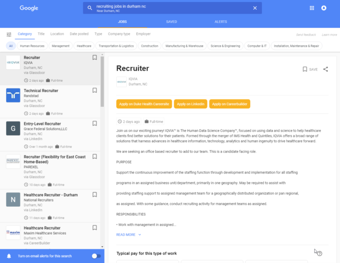 example-google-for-job