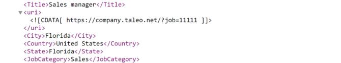 job-taxonomy-xml-integration