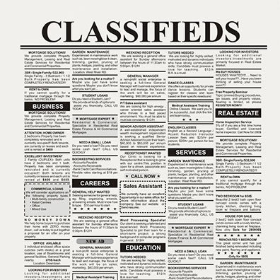 Classifieds Data Management and Analytics Pic